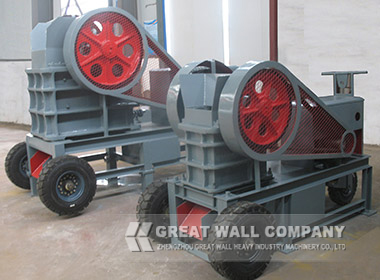Diesel Engine Jaw Crusher